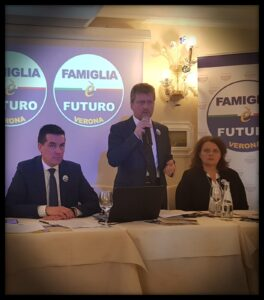 Antonio Zerman Famiglia è Futuro Conferenza Stampa 26gen19